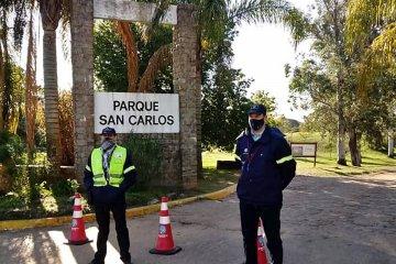 En San Carlos la prohibición de circular para vehículos motorizados continuará hasta que termine la cuarentena