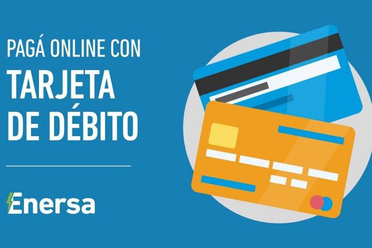 Enersa habilita servicio de pago online con tarjeta de débito