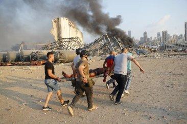 La hija de una concordiense salió ilesa por milagro de la explosión en Beirut