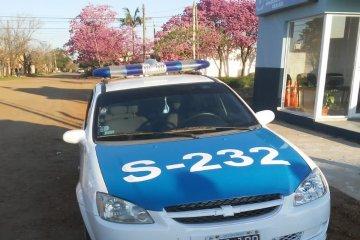 La policía logró recuperar elementos que habían sido robados de un club y una escuela