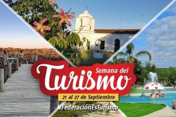 """Federación vivirá la """"Semana del turismo"""""""