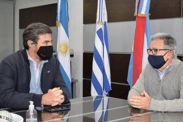 """Giano resaltó que """"CTM Y CAFESG trabajen juntos para el desarrollo de Concordia y la región"""""""