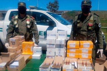 Incautaron gran cantidad de medicamentos sobre el peaje Yeruá