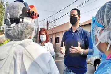 COVID: García explicó cuál es la clave para contener la cantidad de casos en Concordia