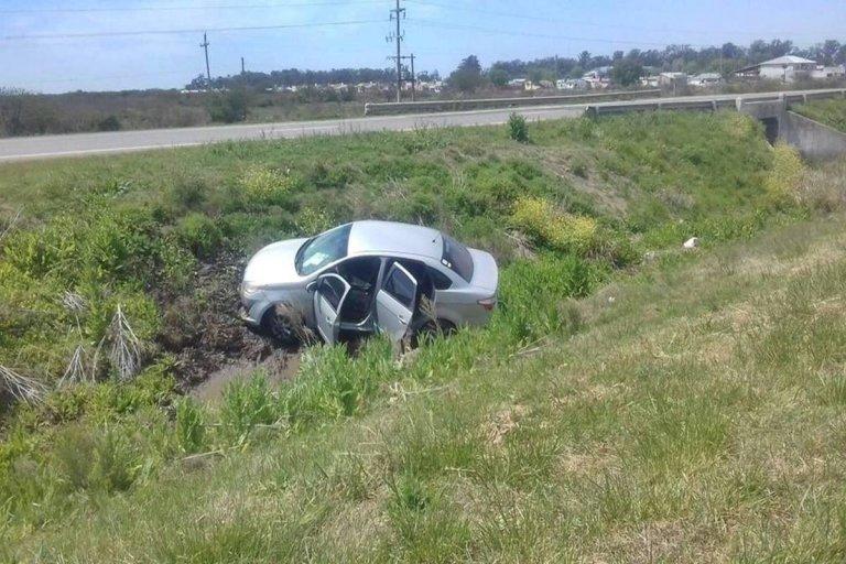 El accidente ocurrió en el mediodía de este jueves.