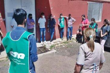 ATE Concordia realizó una asamblea con trabajadores de un hospital local