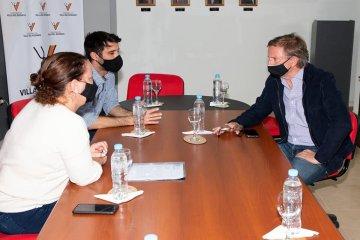 Bahillo visitó Villa del Rosario y abordó las problemáticas que afronta la producción regional
