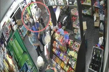 VIDEO: Asalto a mano armada en un drugstore de Concordia