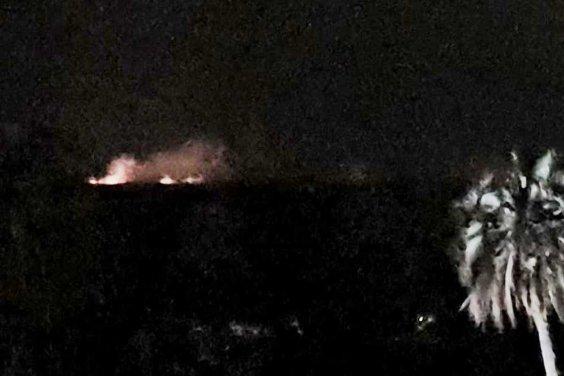 Se registran al menos cuatro focos de incendio en El Palmar