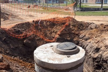 Finalizan los trabajos de la obra de ampliación Red Cloacal de Puerto Yeruá