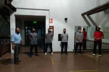 El Club Salto Grande presentó al nuevo coordinador del fútbol