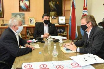 El presidente de CARU recorre ciudades ribereñas analizando la navegabilidad del río Uruguay