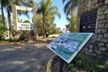 Se intensifican los controles de ingreso al Parque San Carlos