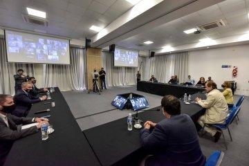 Bordet se reunió con intendentes de Cambiemos para trabajar en una agenda abierta