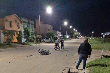 Motociclista quedó con graves secuelas luego de protagonizar un accidente y fue derivado al Masvernat