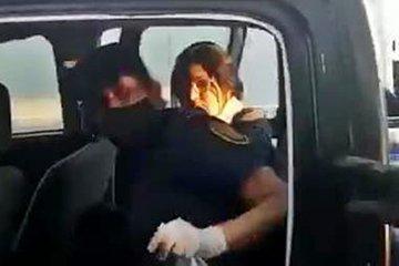 VIDEO: El momento de la detención de Dolores Etchevehere