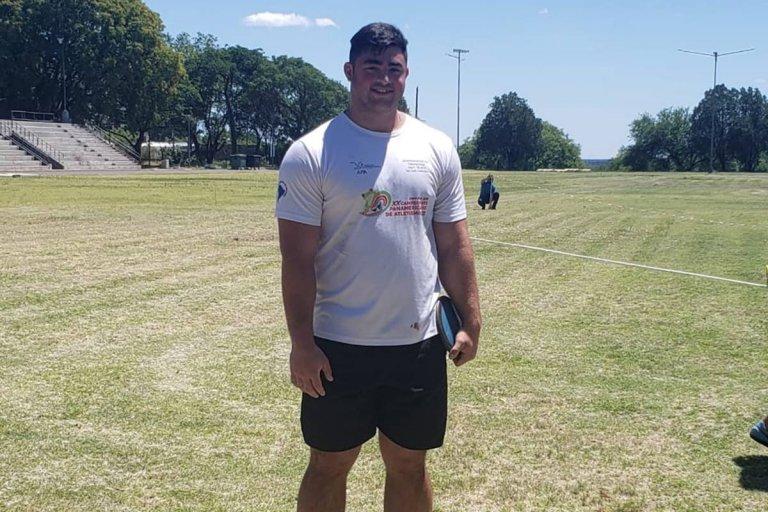 Nazareno Sasia volvió a establecer un record argentino