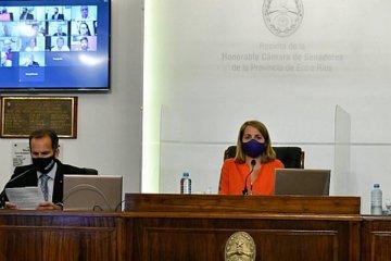 El Senado entrerriano aprobó por unanimidad el Presupuesto para el 2021