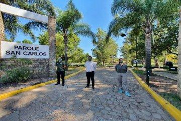 Juntos por el Cambio propone una consulta popular para definir si el Parque San Carlos se cierra al tránsito vehicular