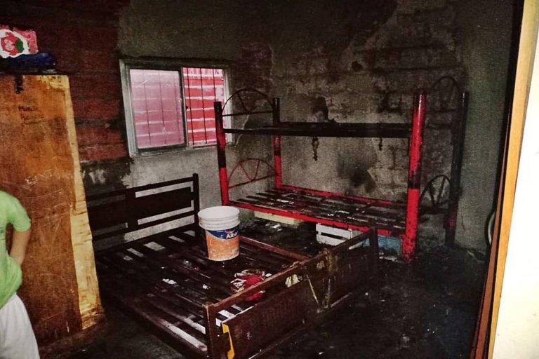 El incendio ocurrió durante la tarde de este martes, en Concordia.
