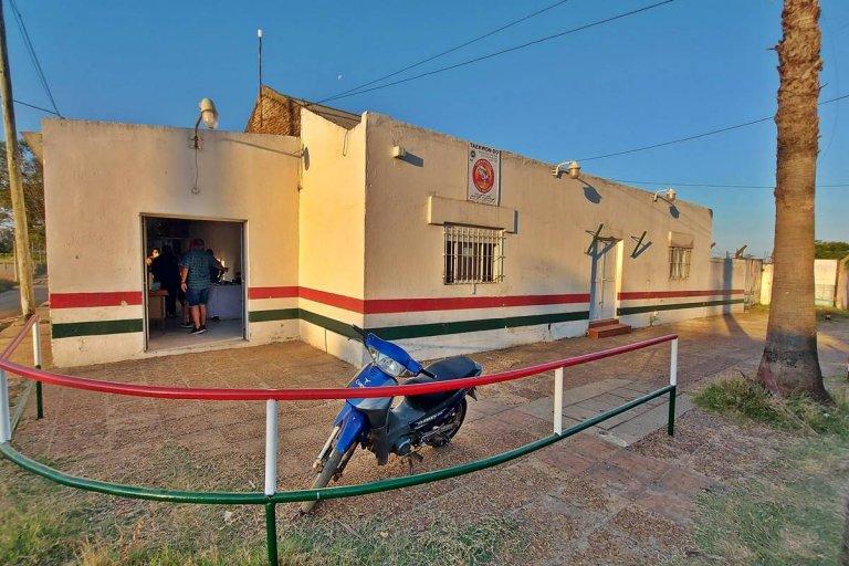 Las nuevas instalaciones del Social y Deportivo La Bianca.