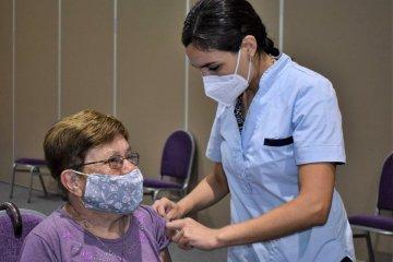 Esta semana se vacunaron contra el Covid 2.470 personas en el Departamento Concordia