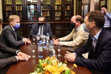 Representante de la Embajada Alemana visitó la Cámara de Diputados