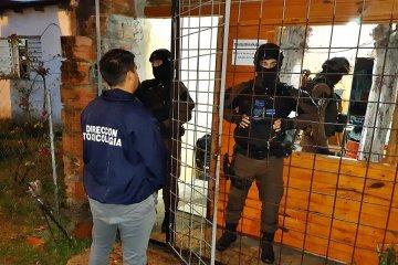 La policía desmanteló un kiosco de droga en La Bianca