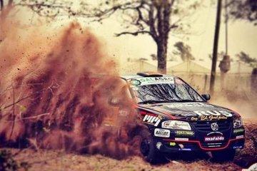 El binomio Pitón - Capurro marcaron el ritmo del Rally de Estancia Grande