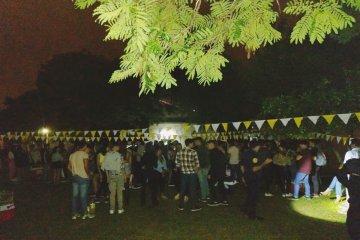 Desbarataron una fiesta clandestina en la que participaban cerca de 300 jóvenes
