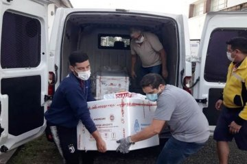 Este lunes Entre Ríos recibió otras 10.200 dosis de la vacuna Sputnik V