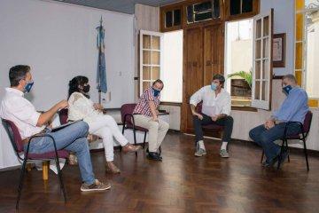 Giano se reunió con representantes del Consejo Profesional de Ciencias Económicas de Entre Ríos en Concordia