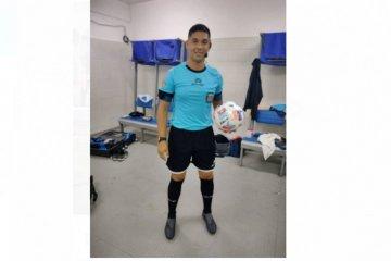 Un concordiense debutó como árbitro asistente en la Primera Nacional