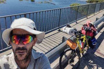 Superó un tratamiento médico y pedaleó 618 kilómetros para agradecer a la Virgen