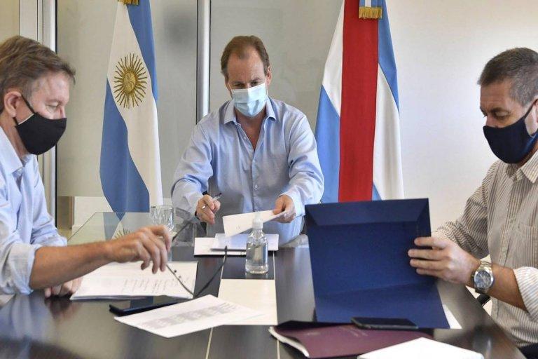 Bordet firmó el decreto durante este martes.