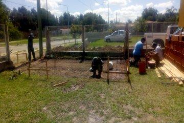 Se inició la construcción del primer cajero automático en Calabacilla