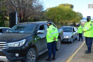 Refuerzan los operativos de seguridad vial en toda la provincia por el fin de semana largo
