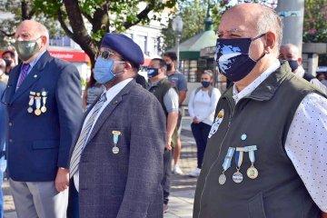 """MALVINAS: """"El apoyo de la sociedad de Concordia a los veteranos nos agranda el alma"""""""