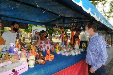 El gobernador recorrió la tradicional Feria de las Golondrinas de Concordia