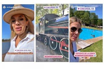 Virginia Gallardo promociona los atractivos turísticos de Concordia a través de sus redes sociales
