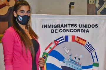 Inmigrantes Unidos de Concordia finalizó sus elecciones y felicitó a su nueva presidenta