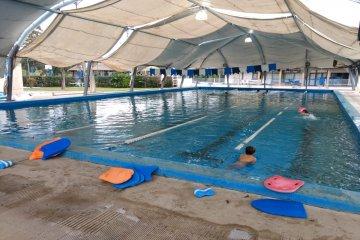 El Club Salto Grande ultimó los detalles y comenzó la temporada invernal de natación