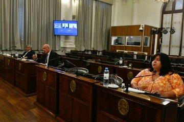 Giorgio, Perroud y Bruzzo participaron de las audiencias públicas para cargos en la Cámara de Casación de Concordia