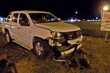 RUTA 18: Siguió de largo en la rotonda de acceso a Villaguay y terminó en el hospital