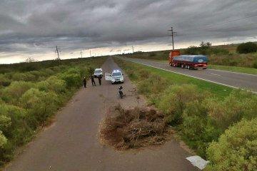 LAMENTABLE: Perdió parte de la oreja tras accidentarse en la autovía de la ruta nacional 18