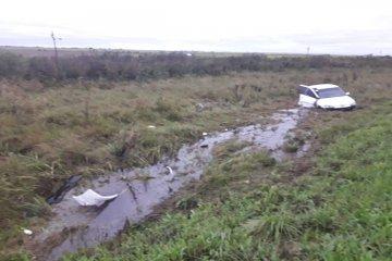 Un joven automovilista despistó en la ruta 18