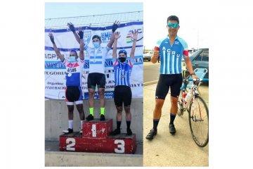 Concordiense se colgó la medalla bronce en el Campeonato Argentino de Ciclismo