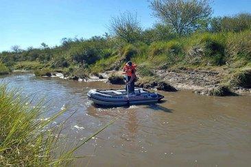 Fue encontrado el cuerpo del joven que cayó al Arroyo en General Campos