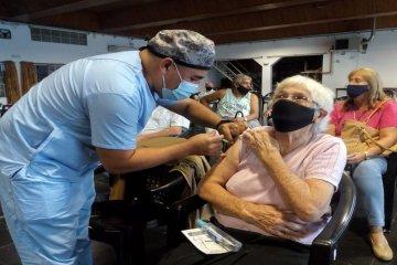 Chajarí planea una maratón de vacunación contra el Covid para mayores de 70 años