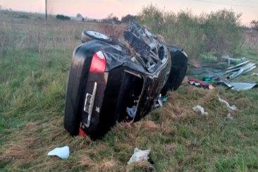 Un entrerriano perdió la vida tras protagonizar un trágico vuelco con su automóvil